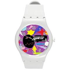 Excruciating Agony Plastic Sport Watch (Medium)
