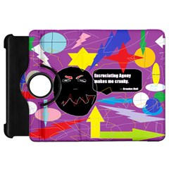 Excruciating Agony Kindle Fire HD 7  (1st Gen) Flip 360 Case