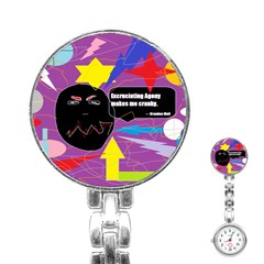Excruciating Agony Stainless Steel Nurses Watch