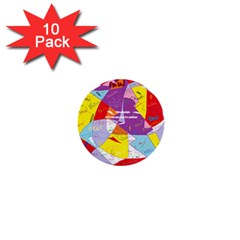 Ain t One Pain 1  Mini Button (10 pack)