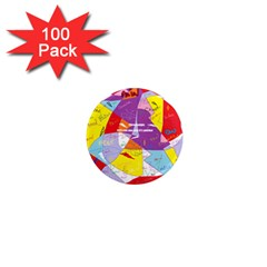 Ain t One Pain 1  Mini Button Magnet (100 pack)