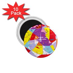 Ain t One Pain 1.75  Button Magnet (10 pack)