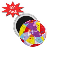 Ain t One Pain 1.75  Button Magnet (100 pack)