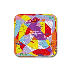 Ain t One Pain Drink Coaster (Square)