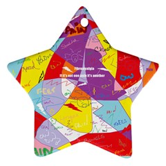 Ain t One Pain Star Ornament (Two Sides)