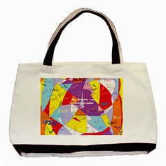 Ain t One Pain Twin-sided Black Tote Bag