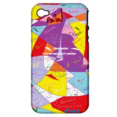 Ain t One Pain Apple iPhone 4/4S Hardshell Case (PC+Silicone)