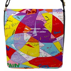 Ain t One Pain Flap Closure Messenger Bag (Small)