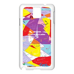 Ain t One Pain Samsung Galaxy Note 3 N9005 Case (White)