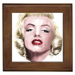 Marilyn Framed Ceramic Tile