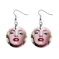 Marilyn Mini Button Earrings