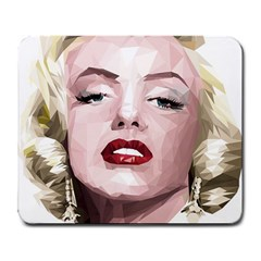 Marilyn Large Mouse Pad (Rectangle)