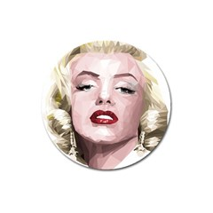 Marilyn Magnet 3  (Round)