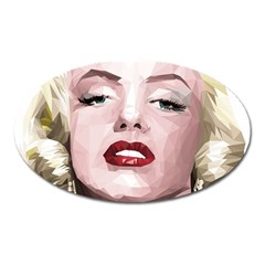 Marilyn Magnet (Oval)