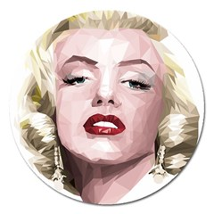 Marilyn Magnet 5  (Round)