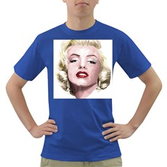 Marilyn Men s T-shirt (Colored)