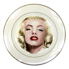Marilyn Porcelain Display Plate
