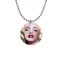Marilyn Button Necklace