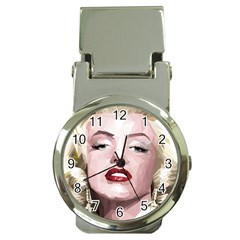 Marilyn Money Clip with Watch