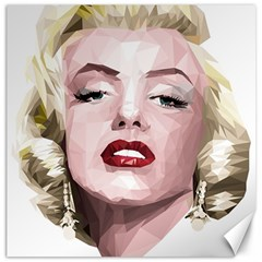 Marilyn Canvas 20  X 20  (unframed)
