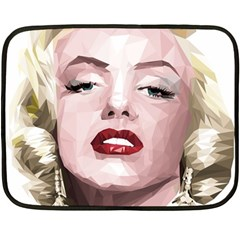 Marilyn Mini Fleece Blanket (Two Sided)