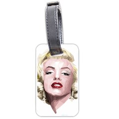 Marilyn Luggage Tag (one Side)