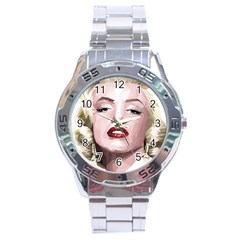Marilyn Stainless Steel Watch