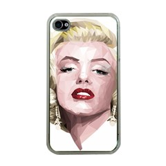 Marilyn Apple iPhone 4 Case (Clear)