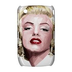 Marilyn BlackBerry Curve 8520 9300 Hardshell Case