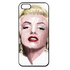 Marilyn Apple iPhone 5 Seamless Case (Black)