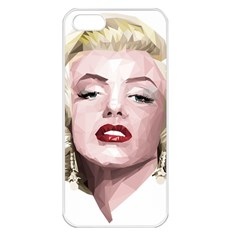 Marilyn Apple iPhone 5 Seamless Case (White)