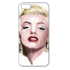Marilyn Apple Seamless Iphone 5 Case (clear)