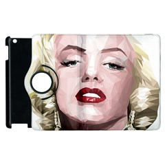 Marilyn Apple iPad 3/4 Flip 360 Case