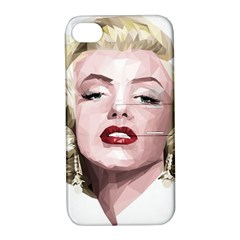 Marilyn Apple Iphone 4/4s Hardshell Case With Stand
