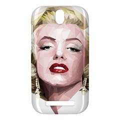 Marilyn HTC One SV Hardshell Case