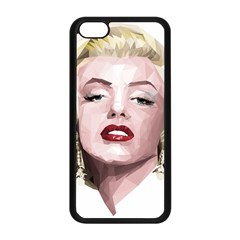 Marilyn Apple iPhone 5C Seamless Case (Black)