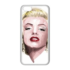 Marilyn Apple Iphone 5c Seamless Case (white)