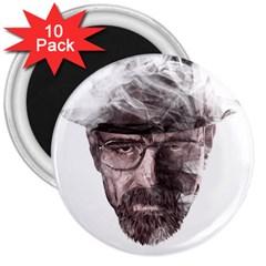 Heisenberg  3  Button Magnet (10 Pack)