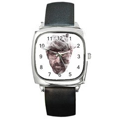 Heisenberg  Square Leather Watch