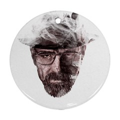 Heisenberg  Round Ornament (Two Sides)