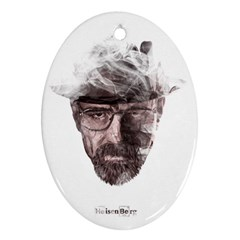 Heisenberg  Oval Ornament (Two Sides)
