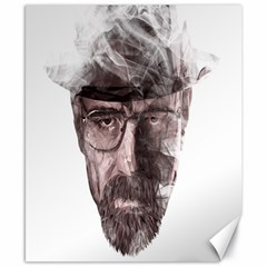 Heisenberg  Canvas 8  x 10  (Unframed)