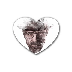 Heisenberg  Drink Coasters 4 Pack (heart)