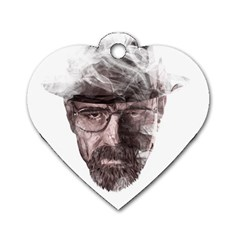 Heisenberg  Dog Tag Heart (Two Sided)