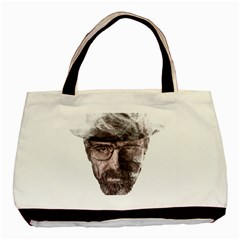 Heisenberg  Twin Sided Black Tote Bag