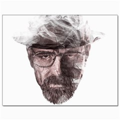 Heisenberg  Canvas 11  X 14  (unframed)