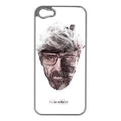 Heisenberg  Apple iPhone 5 Case (Silver)