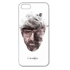 Heisenberg  Apple Seamless Iphone 5 Case (clear)