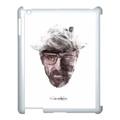 Heisenberg  Apple iPad 3/4 Case (White)