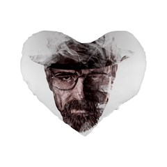 Heisenberg  16  Premium Heart Shape Cushion